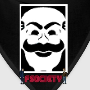 fsociety mr robot s02 T-Shirts - Bandana