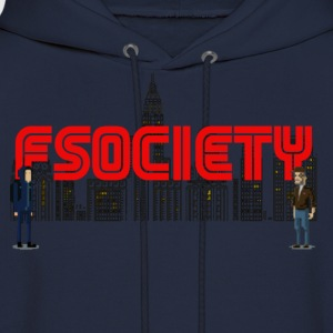 8 bit fsociety mr robot T-Shirts - Men's Hoodie