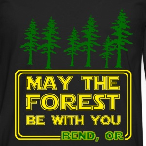 May the Forest be with You - Men's Premium Long Sleeve T-Shirt
