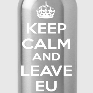 Keep Calm And Leave EU T-Shirts - Water Bottle