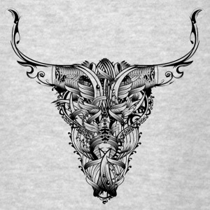 Head of a bull Hoodies - Men's T-Shirt