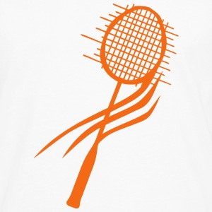 badminton racket schlager 811 T-Shirts - Men's Premium Long Sleeve T-Shirt