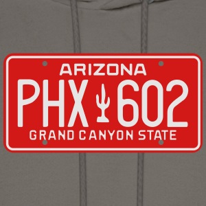 Retro Phoenix Arizona License Plate T-Shirt - Men's Hoodie