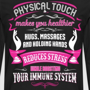 MASSAGE  - physical touch makes you T-Shirts - Men's Premium Long Sleeve T-Shirt