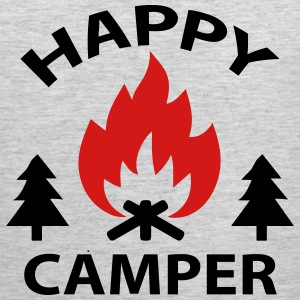 HAPPY CAMPER T-Shirts - Men's Premium Tank