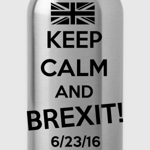 Keep Calm and BREXIT T-Shirts - Water Bottle