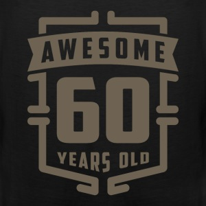 Awesome 60 Years Old - Men's Premium Tank