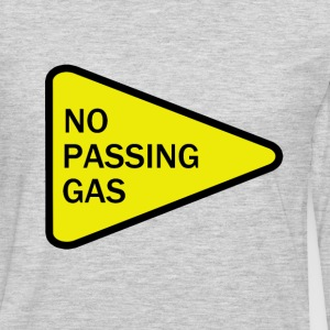 No Passing Gas - Men's Premium Long Sleeve T-Shirt