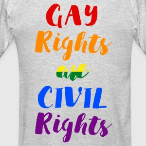 GAY RIGHTS ARE CIVIL RIGHTS - Men's T-Shirt