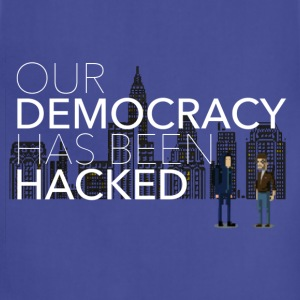 NEW Mr Robot Hacked democracy quote T-Shirts - Adjustable Apron