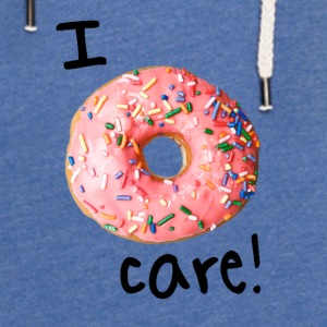 I donut care! (boys) - Unisex Lightweight Terry Hoodie