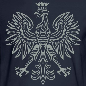 Eagle Emblem T-Shirts - Men's Long Sleeve T-Shirt