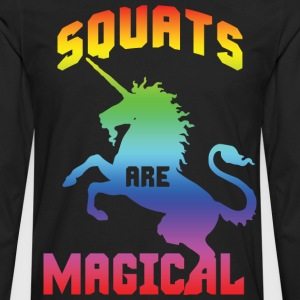 Squats Are Magical T-Shirts - Men's Premium Long Sleeve T-Shirt