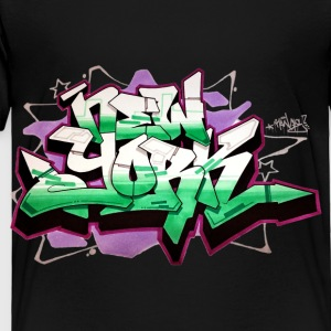 RANGE - Design for New York Graffiti Color Logo -  - Toddler Premium T-Shirt