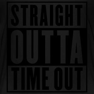 Straight Outta Time Out Kids' Shirts - Toddler Premium T-Shirt