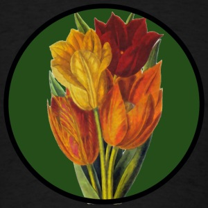 Vintage Tulips Tanks - Men's T-Shirt