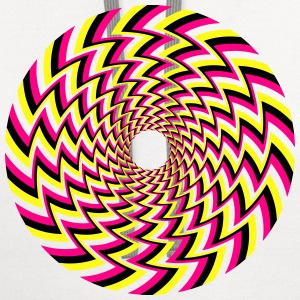 Optical Illusion 32A T-Shirts - Contrast Hoodie