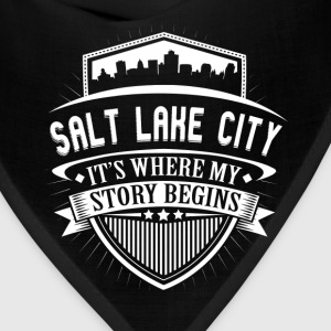 Salt Lake City This Is Where My Story Begins T-Shi T-Shirts - Bandana