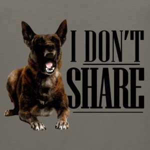 I do not share - Malinois - Men's Premium Tank