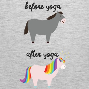 Before Yoga / After Yoga Women's T-Shirts - Men's Premium Tank