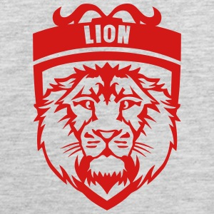 lion head logo 809 T-Shirts - Men's Premium Tank