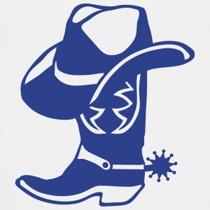 boot cowboy hat logo 68 Kids' Shirts - Toddler Premium T-Shirt