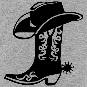 boot cowboy hat logo 6 Kids' Shirts - Toddler Premium T-Shirt