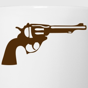 loaded pistol gun revolver 803 Long Sleeve Shirts - Coffee/Tea Mug