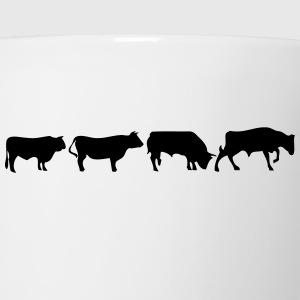 animated bull Kids' Shirts - Coffee/Tea Mug