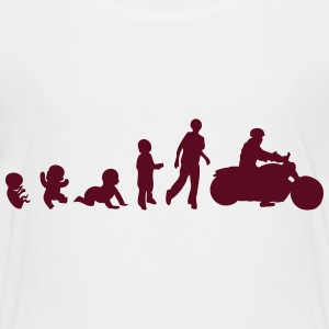 human evolution bike motorcycle 2 Kids' Shirts - Toddler Premium T-Shirt