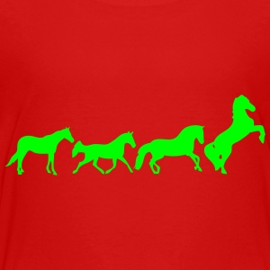 animated horse 2 Kids' Shirts - Toddler Premium T-Shirt