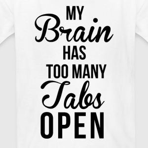 Brain Tabs  T-Shirts - Kids' T-Shirt