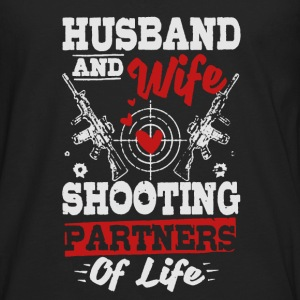 Husband And Wife Shirt - Men's Premium Long Sleeve T-Shirt