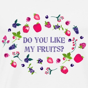 do_you_like_my_fruits_06201602 Tanks - Men's Premium T-Shirt