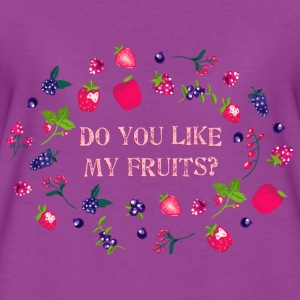 do_you_like_my_fruits_06201601 Tanks - Women's Premium T-Shirt