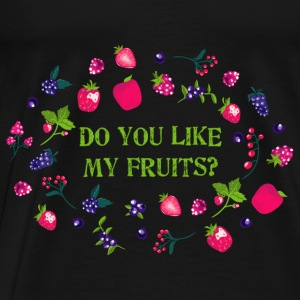 do_you_like_my_fruits_06201603 Tanks - Men's Premium T-Shirt