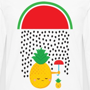 Melon Rain - Pineapple Women's T-Shirts - Men's Premium Long Sleeve T-Shirt