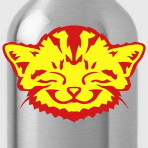 funny cat picture 801 T-Shirts - Water Bottle