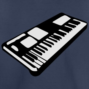 keyboard music piano music instrument Kids' Shirts - Toddler Premium T-Shirt