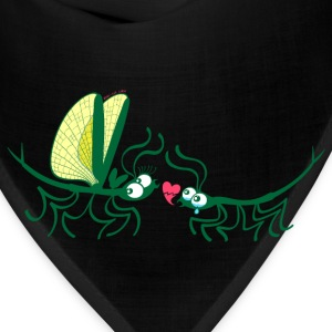Stick insects painfully breaking their love Women's T-Shirts - Bandana