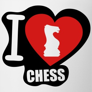 i love chess Long Sleeve Shirts - Coffee/Tea Mug