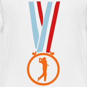 golf champion medal Kids' Shirts - Toddler Premium T-Shirt