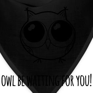 Owl be waiting for you! - farewell gift - Bandana