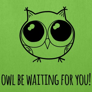 Owl be waiting for you! - farewell gift - Tote Bag