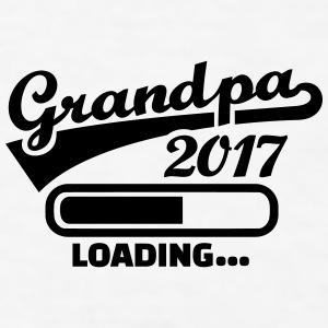 Grandpa 2017 Mugs & Drinkware - Men's T-Shirt