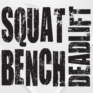 Squat, Bench Press, Deadlift T-Shirts - Bandana