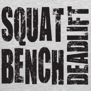 Squat, Bench Press, Deadlift T-Shirts - Men's Premium Tank