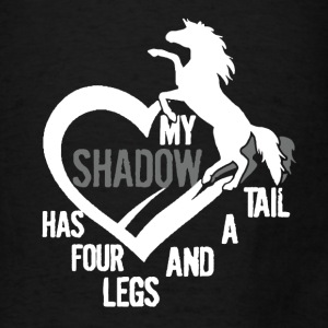 My Horse Is My Shadow - Men's T-Shirt