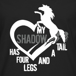 My Horse Is My Shadow - Men's Premium Long Sleeve T-Shirt