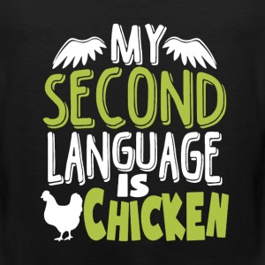 Second Language Chicken - Men's Premium Tank